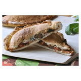 Gluten free calzones made with gfJules gluten free pizza crust mix