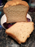 Close up of Gluten free sandwich bread made with gfJules gluten free bread mix