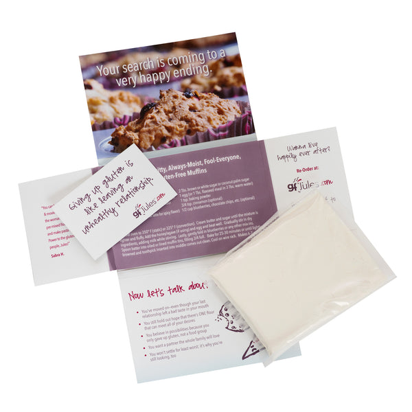 gfJules Gluten Free Flour Sample - put the best to your