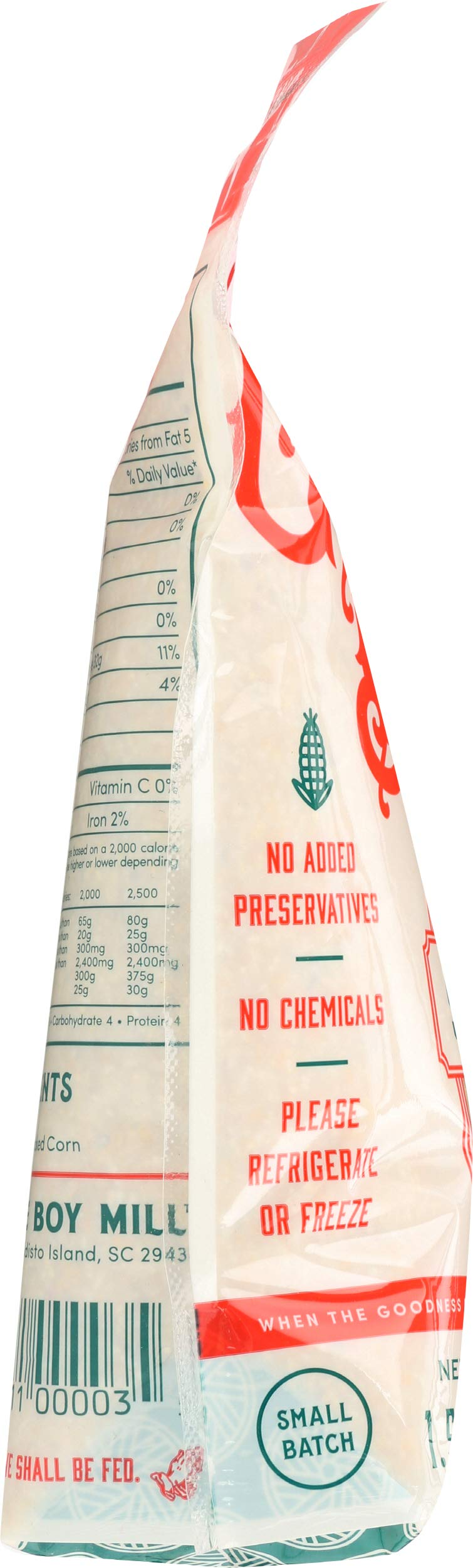 Geechie Boy Mill Speckled Grits, 24 Ounce Bag