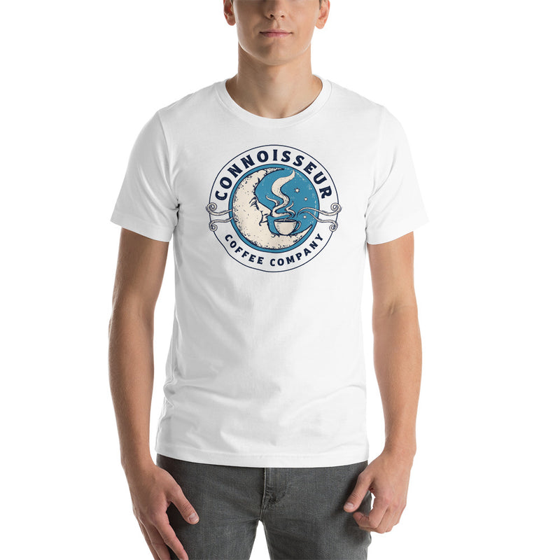 Connoisseur Coffee Company Moon Merch Unisex T-shirt