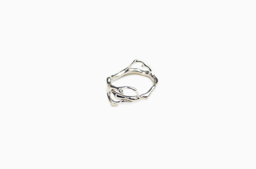Jonc Corail Simple</br> en Argent