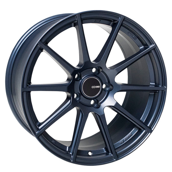 Enkei TS10 18x9.5 35mm Offset 5x114.3 Bolt Pattern 72.6mm Bore - Matte Blue Wheel