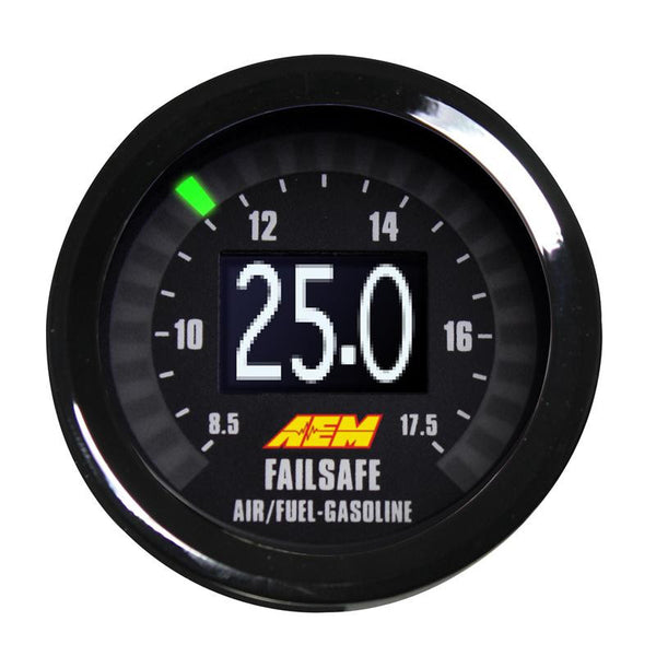 AEM Universal Wideband Failsafe Gauge (Air/Fuel Ratios and Manifold Pressure) 30-4900
