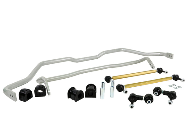Whiteline Front and Rear Sway Bar Kit - 2016 - 2018 Honda Civic
