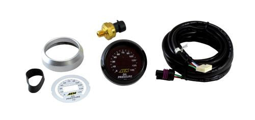 AEM 52mm Oil Pressure 150psi Digital Gauge - 30-4407