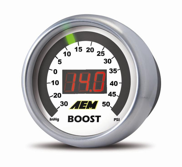 AEM Digital Display Boost Gauge - 30-4406