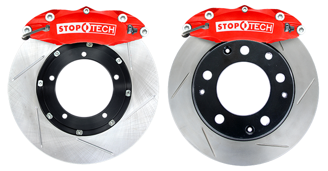StopTech Early Porsche 911 Big Brake Kit - Front