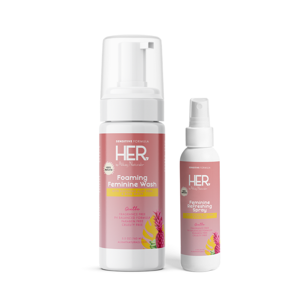 HER by Alikay Naturals™ Sensitive Cleanse & Refresh Bundle
