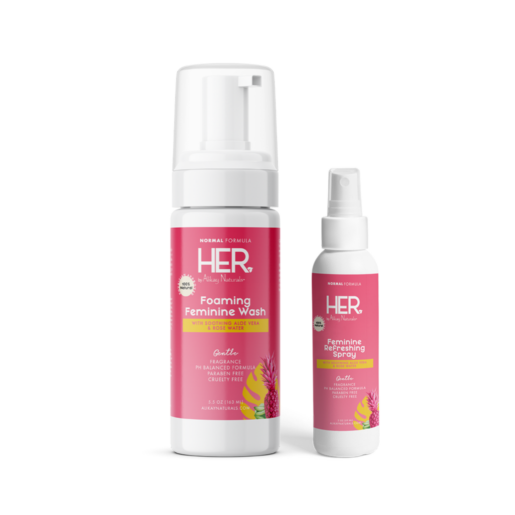 HER by Alikay Naturals™ Normal Cleanse & Refresh Bundle