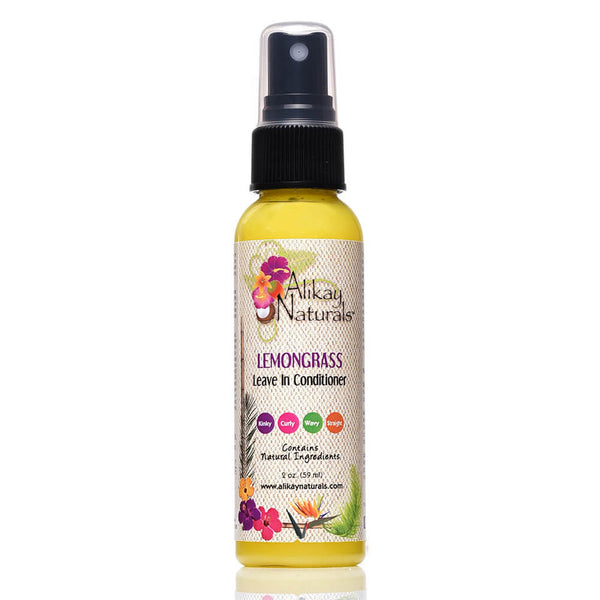 Lemongrass Leave In Conditioner - 2oz Travel Size