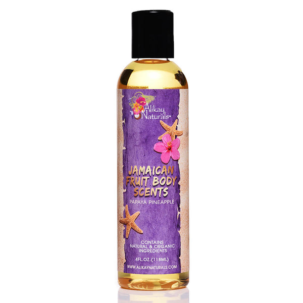 Jamaican Fruits Scented Body Oils- Papaya Pineapple