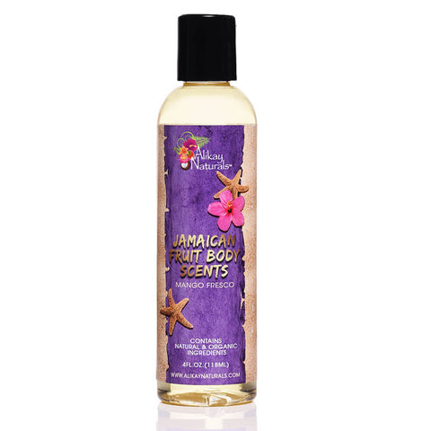 Jamaican Fruits Scented Body Oils- Mango Fresco