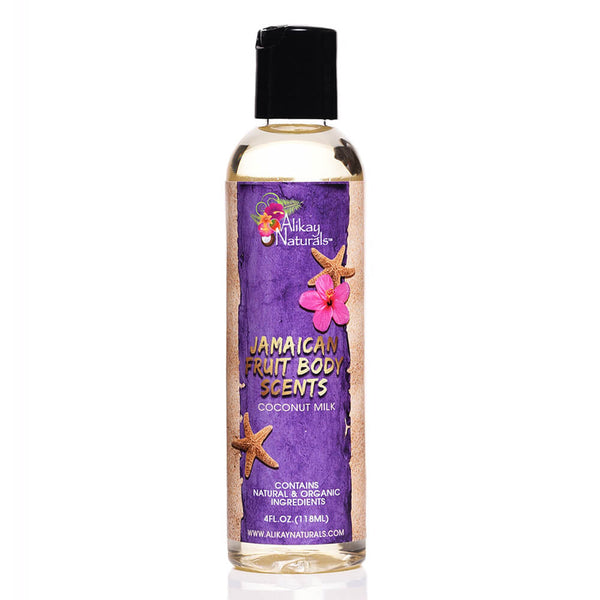 Jamaican Fruits Scented Body Oils- Cocounut Milk