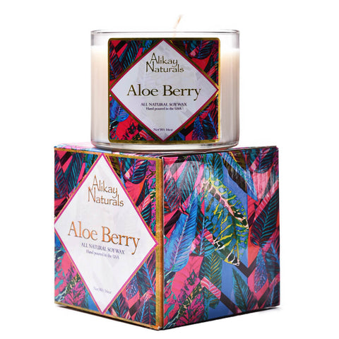 Aloe Berry Luxury Soy Candle