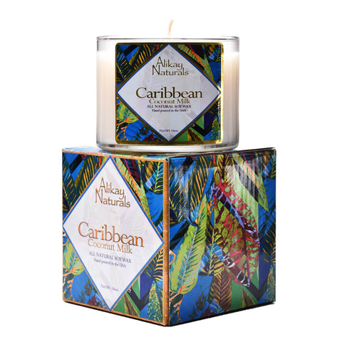 Caribbean Coconut Milk Luxury Soy Candle