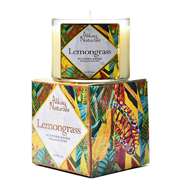 Lemongrass Luxury Soy Candle