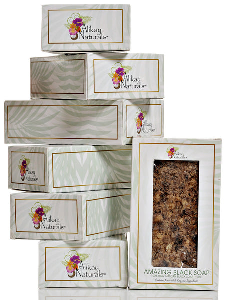 Amazing Black Soap Bar- SET OF 7