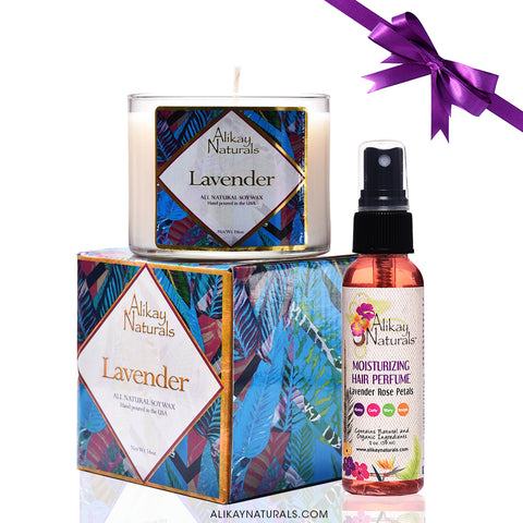 Lavender Holiday Gift Set