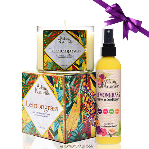 Lemongrass Holiday Gift Set