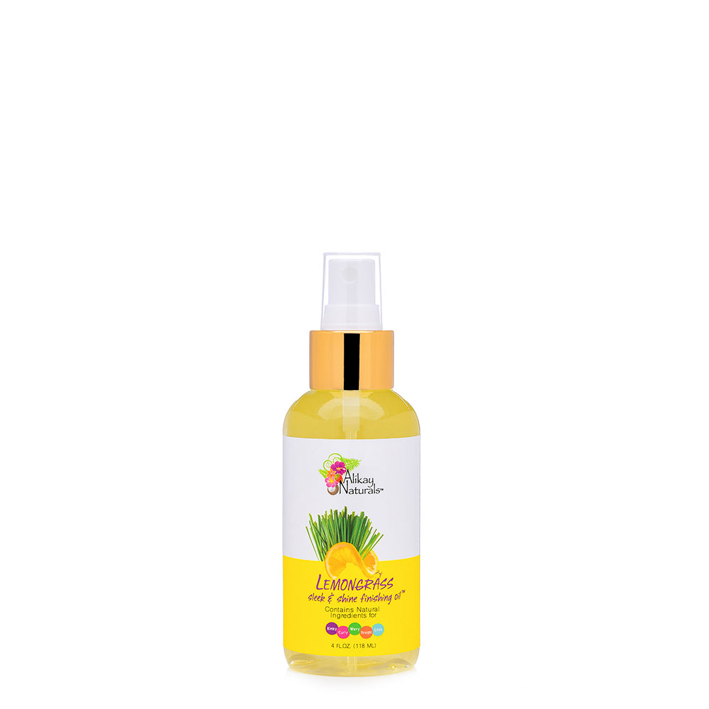 Lemongrass Sleek and Shine Finishing Oil 4 oz