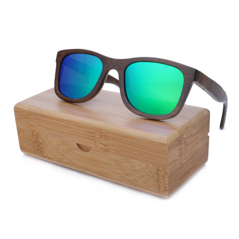 """Sorrento""  Bamboo Sunglasses"