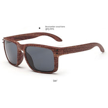"""Bari"" Timber Print Sunglasses."
