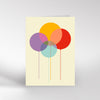 Dicky Bird - Balloons - Card DB 063