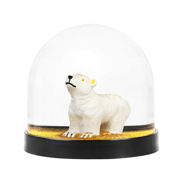 &Klevering - Wonderball polar bear gold glitter