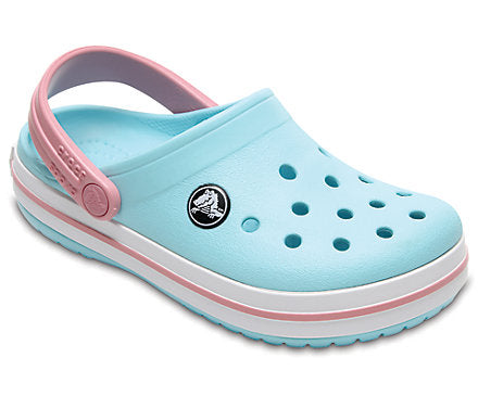 Crocs - Kids - Crocband Clog - Ice Blue/White