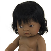 Miniland - Toddler Doll Hispanic Girl 38CM