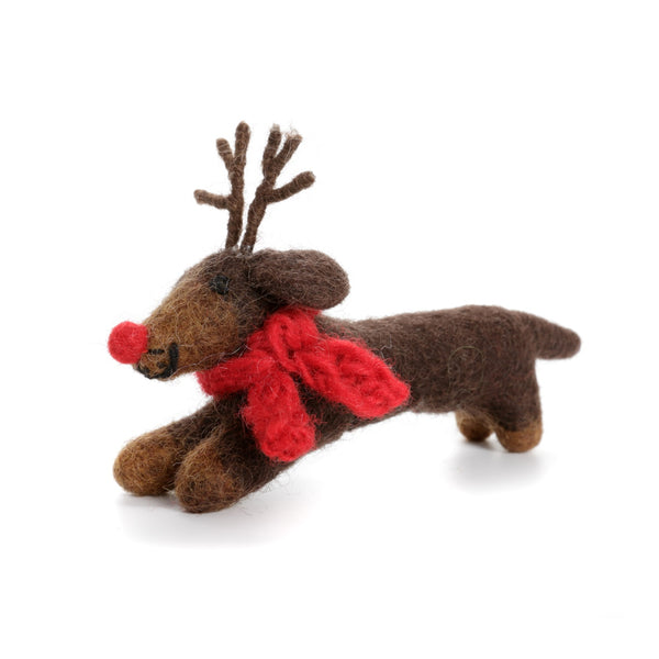 Amica - Sausage Dog with antlers