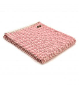 Tweedmill Textiles - Organic Cotton Herringbone Throw