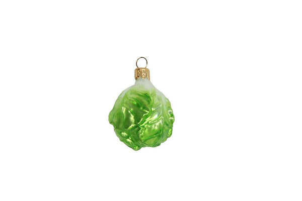 Gisela Graham - Glass Brussel Sprout Decoration