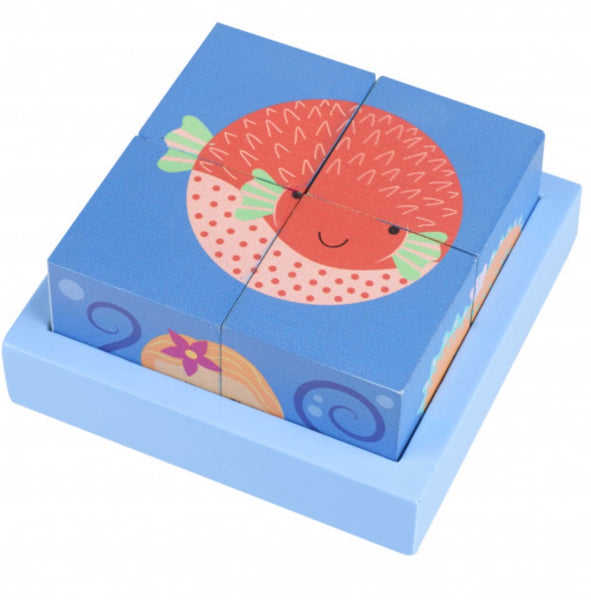 Orange Tree Toys Sealife Blocks