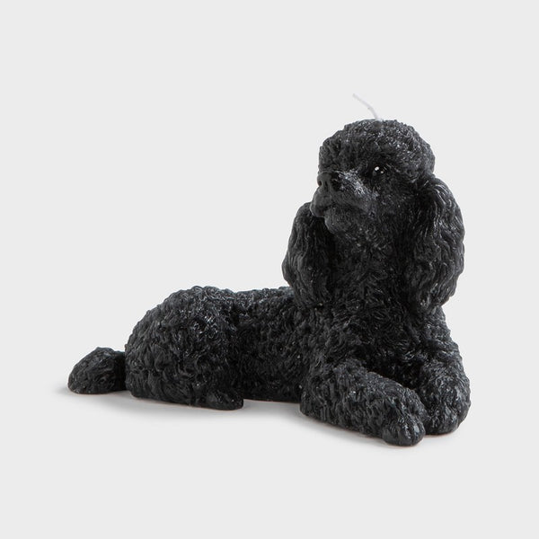 &Klevering - Candle - Poodle Black