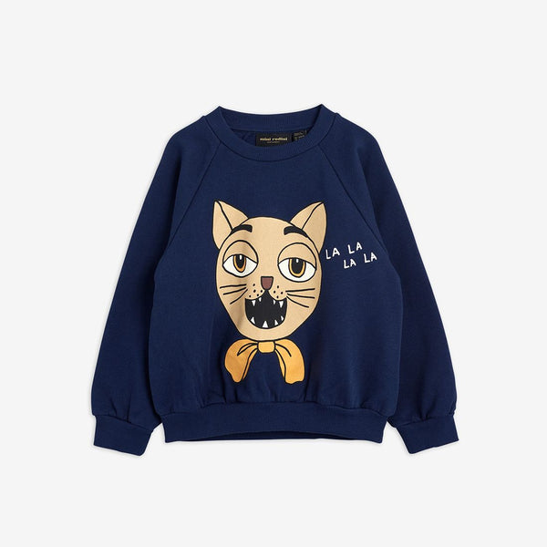 Mini Rodini - AW20 - Cat Choir Sweatshirt - Navy
