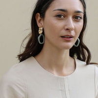 Weathered Penny - Alexa Earrings