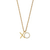 Estella Bartlett - Xo Necklace - Gold