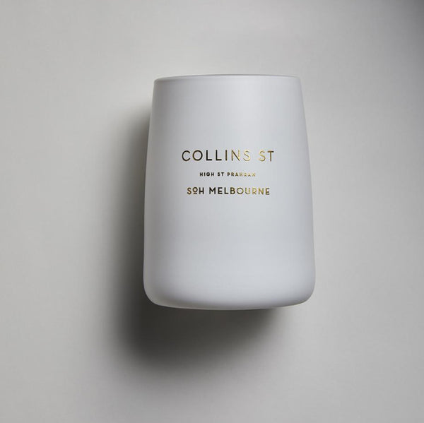 SOH - COLLINS ST - WHITE MATTE CANDLE