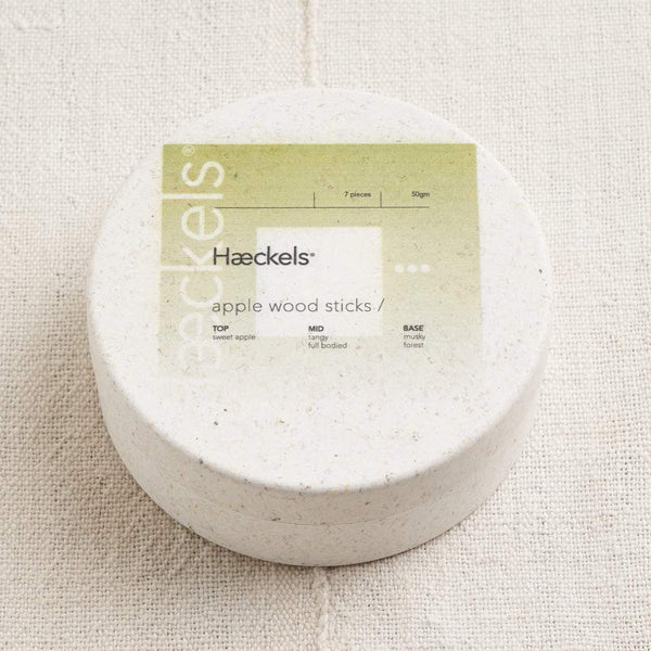 Haeckels - Apple Wood Raw Incense
