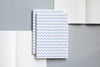 Ola A5 Layflat Notebook - dash print