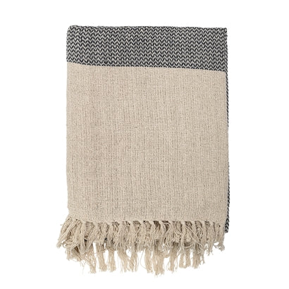 Bloomingville - Recycled Cotton Grey Throw