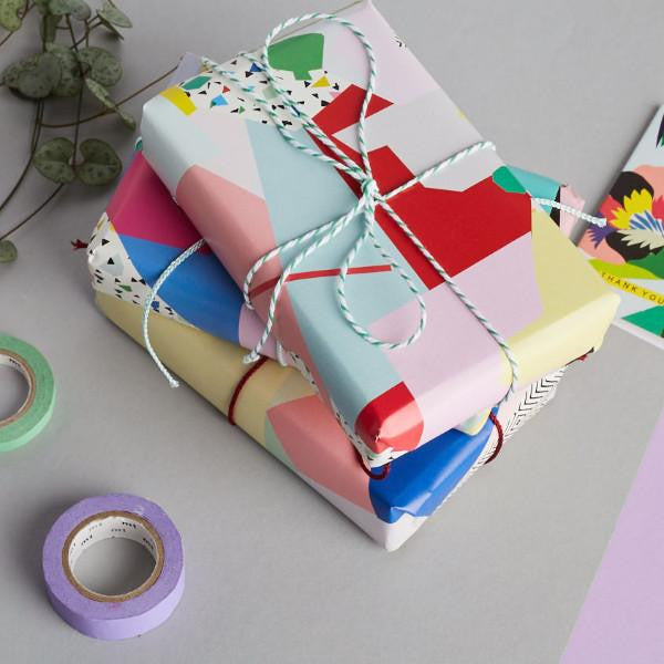 Kitty McCall - Abstract gift wrap