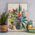 Kitty McCall - Palm Springs Print - Framed A2