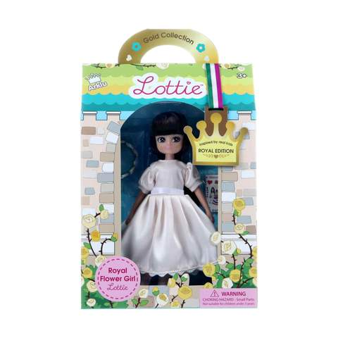 Lottie - Royal Flower Girl Doll