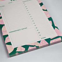 The Completist - FLOWER TERRAZZO DAILY PLANNER PAD