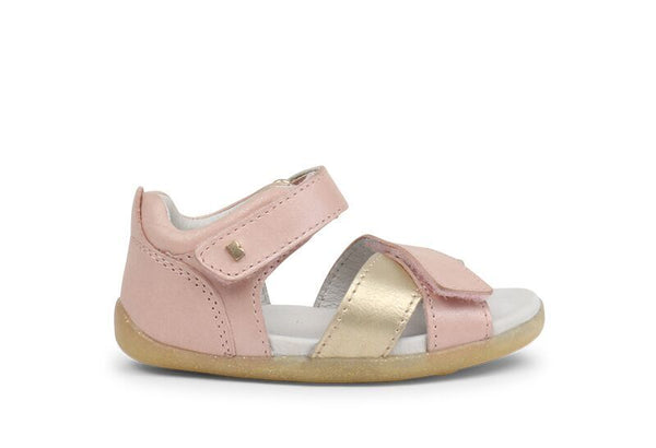 Bobux - SU Sail Sandy - Blush/Misty Gold