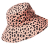 Rockahula - Cheetah Sun Hat - 7-10 Years - Coral