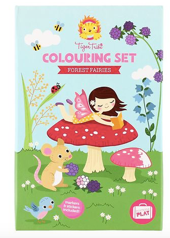TIGER TRIBE - 3D Colouring Sets Forest Fairies